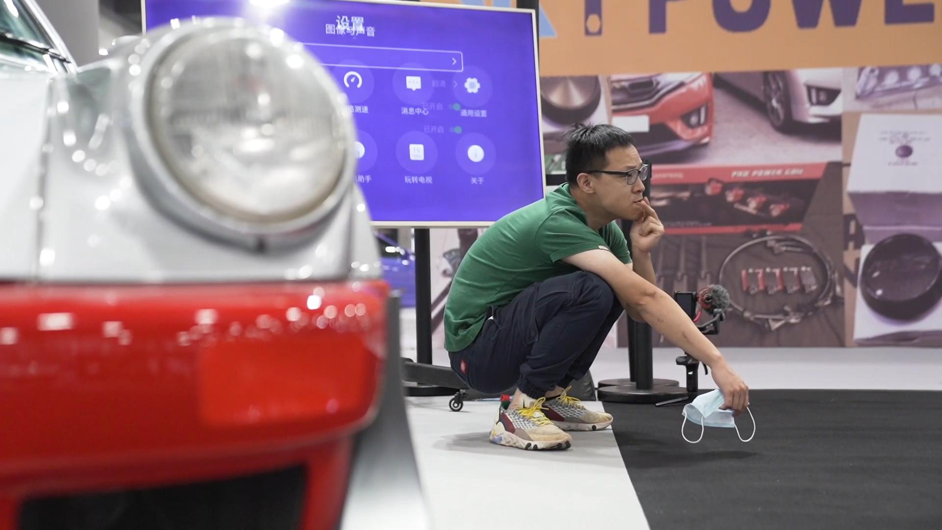 曾颖卓逛2020广州车展,这些车比新车更好看