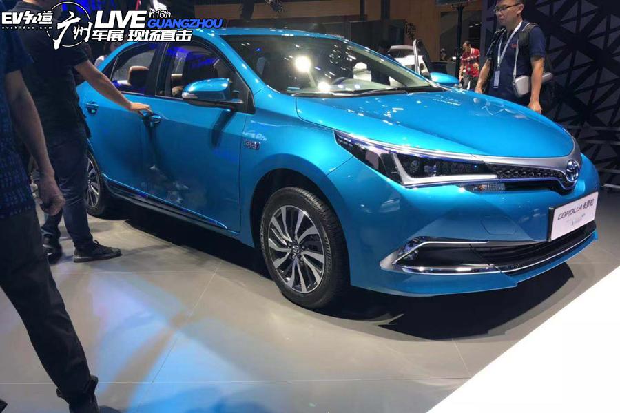 2018广州车展:卡罗拉双擎E+广州车展开启预售