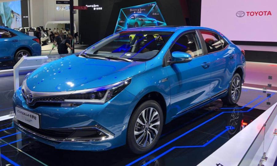 卡罗拉双擎E+将于广州车展开启预售 明年3月上市