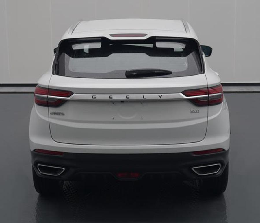 吉利全新SUV定名为星越 插电混动版本油耗1.4L