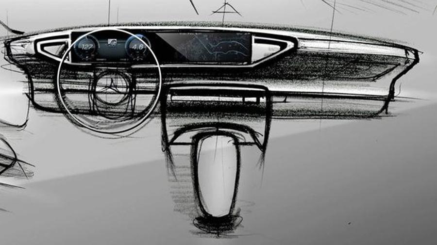 2019款奔驰GLE内饰设计图曝光 将提供混动版车型