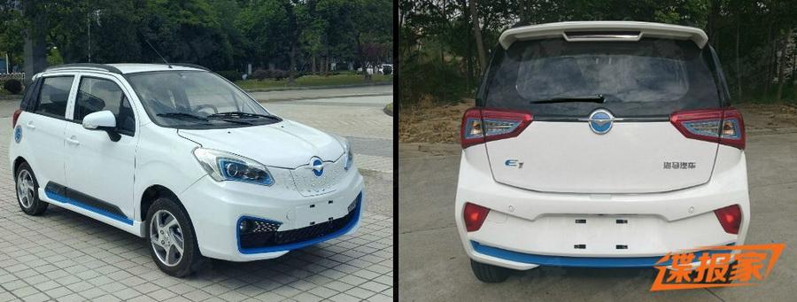 海马E1纯电动车将发布 最大马力54Ps/年内上市