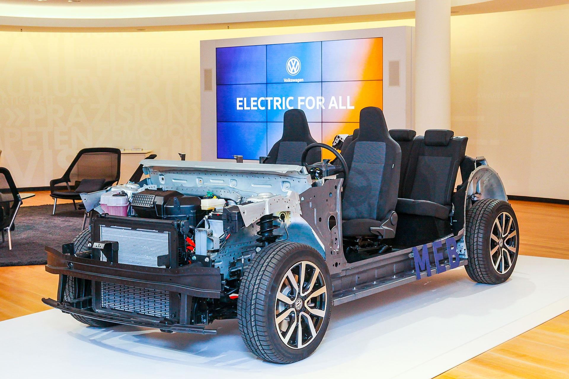 将推入门级紧凑型纯电动车 曝大众新品计划