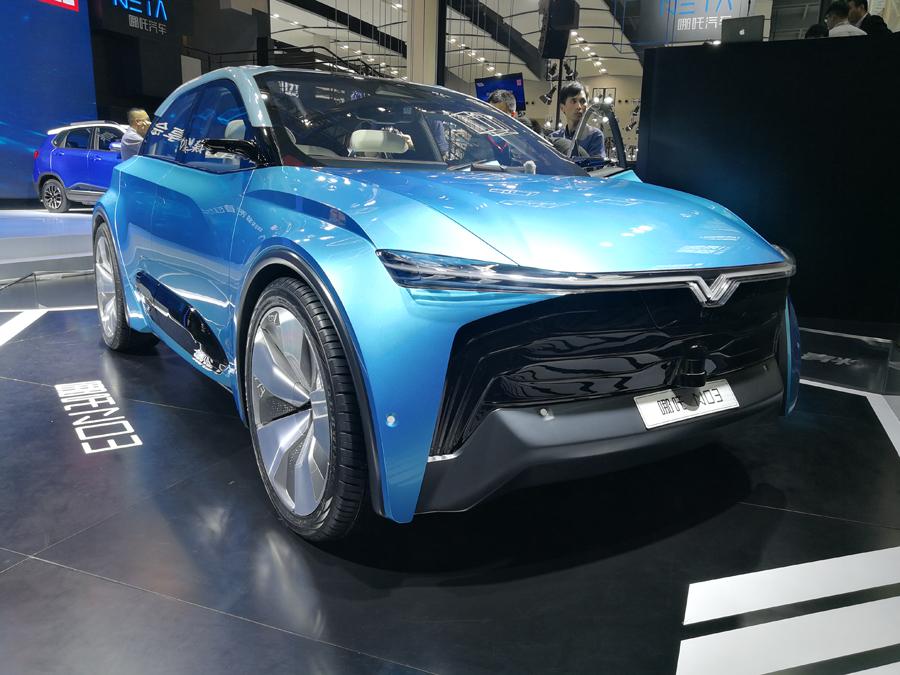 3月21日发布 合众新能源第二款量产车即将亮相