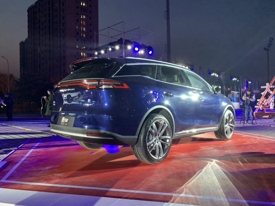唐EV/宋MAX DM领衔 比亚迪多款新能源车型上市