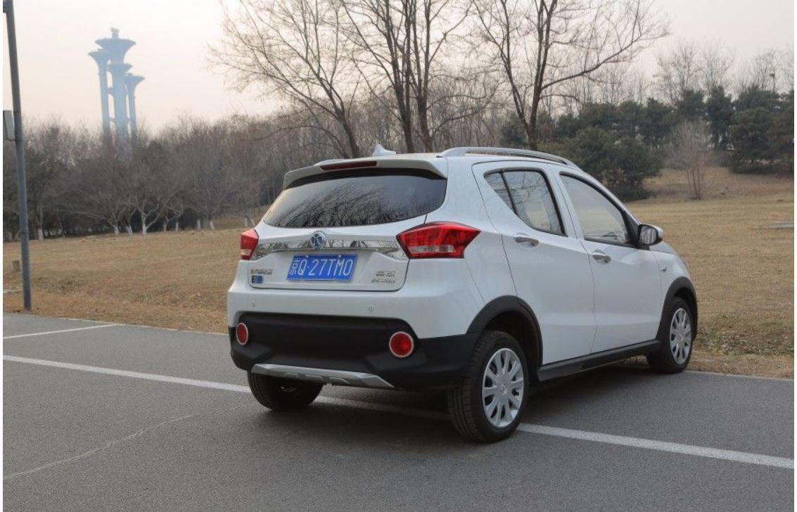 補貼后售5.58萬元 北汽新能源EC220新增車型上市