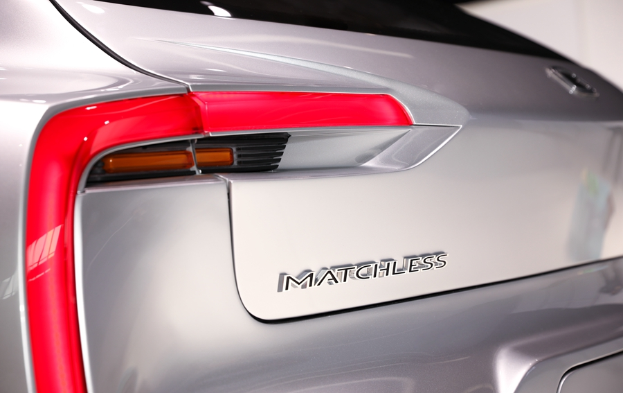 GYON首款旗舰车型实车细节图 定名为Matchless