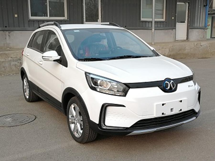北汽新能源上海车展阵容:EX3/EU7/EC5