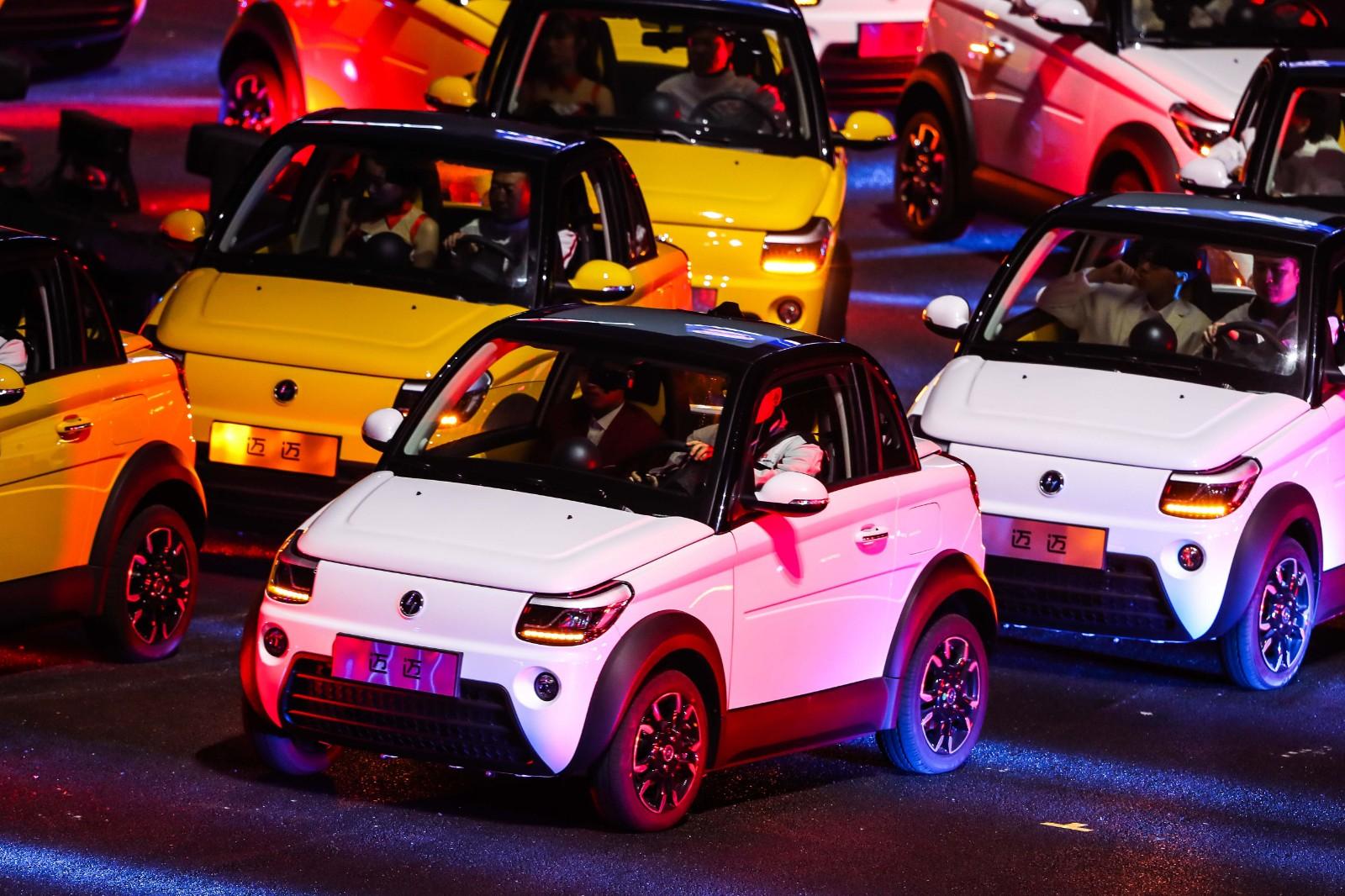综合续航可达305km 赛麟汽车发布电动小跑车迈迈