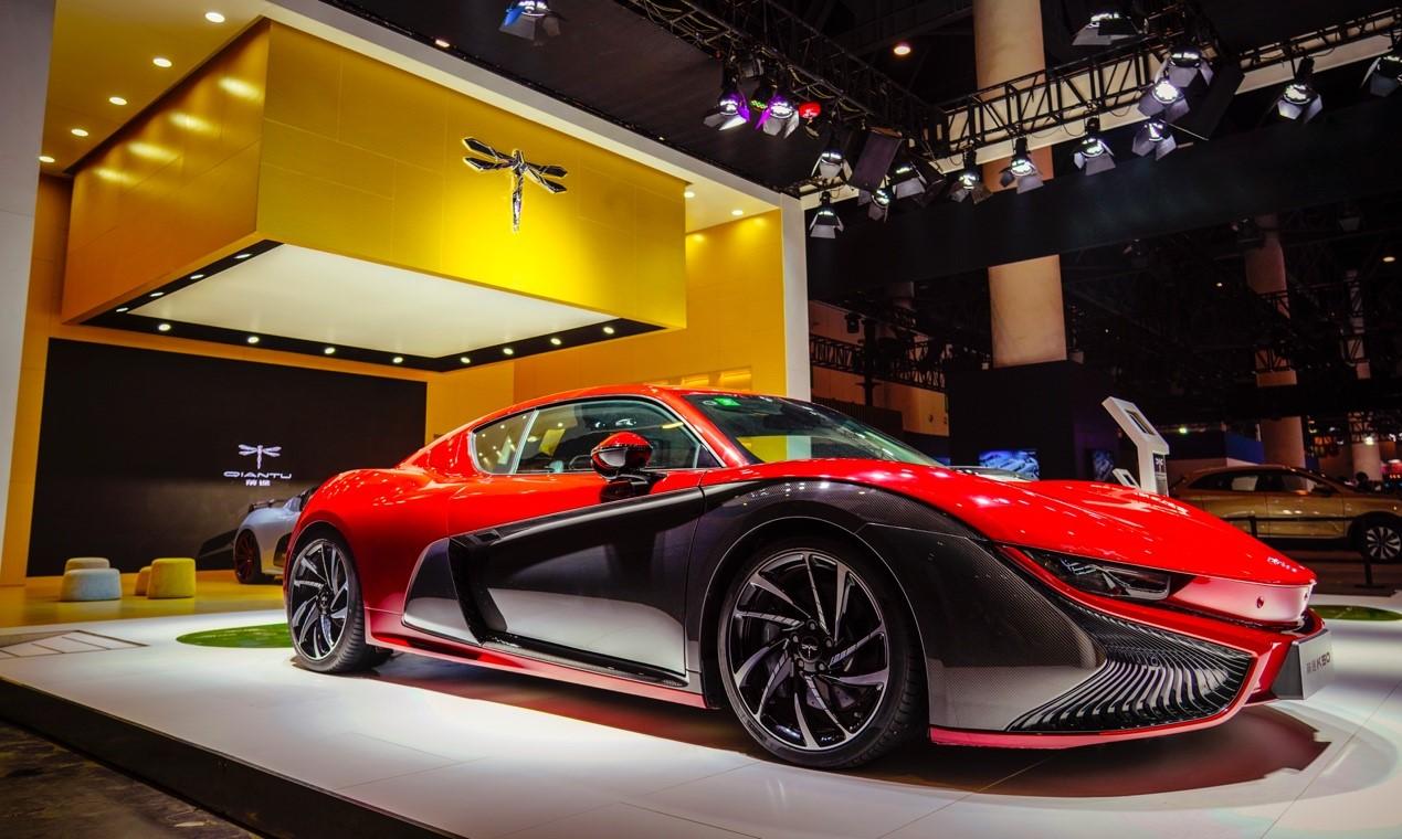 前途汽车携前途K50 Spyder Concept耀动成都车展