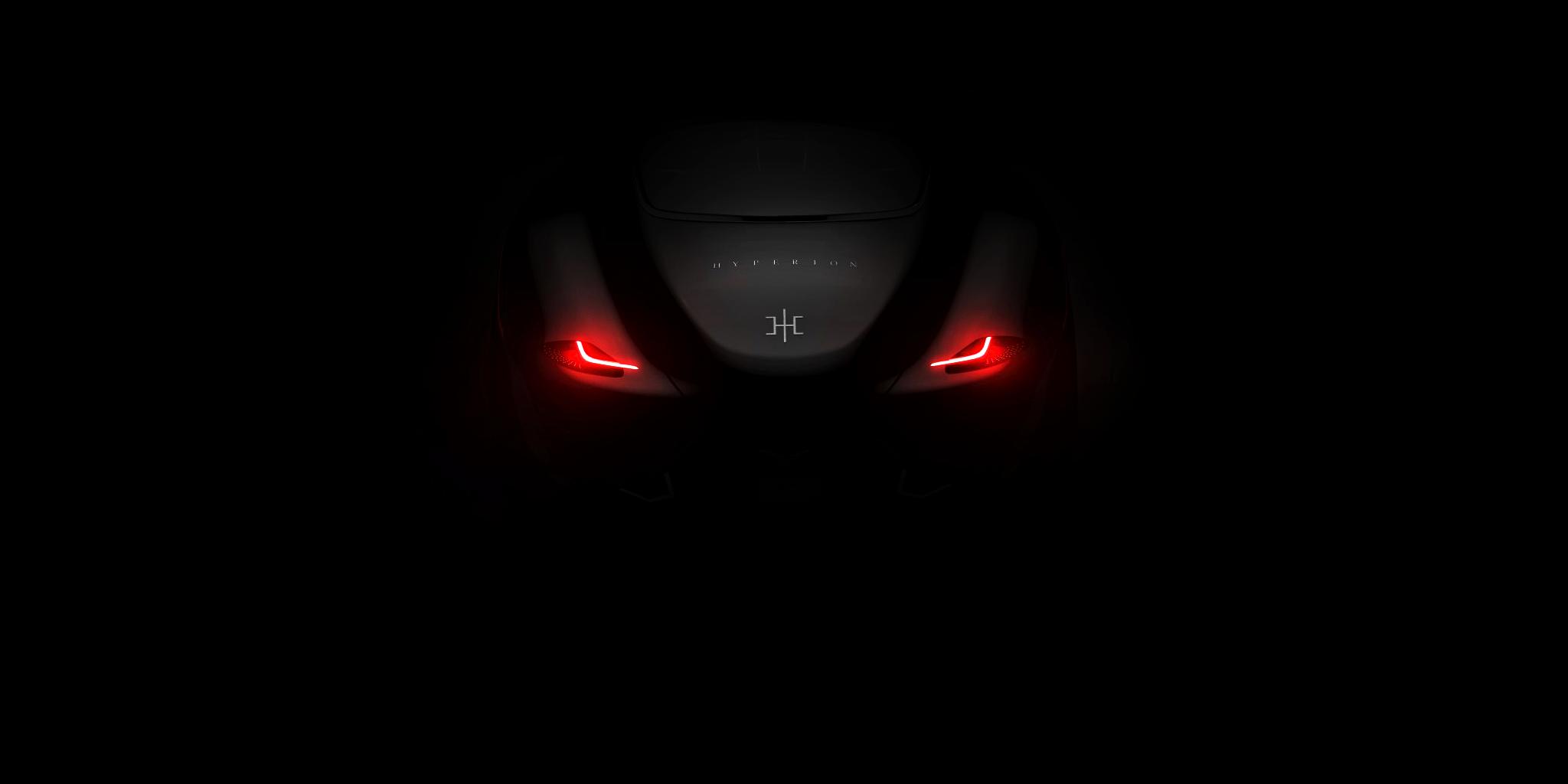 或将采用氢能源 Hyperion发新车预告图