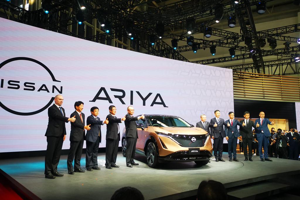 2020北京车展:全新日产Ariya在中国首发
