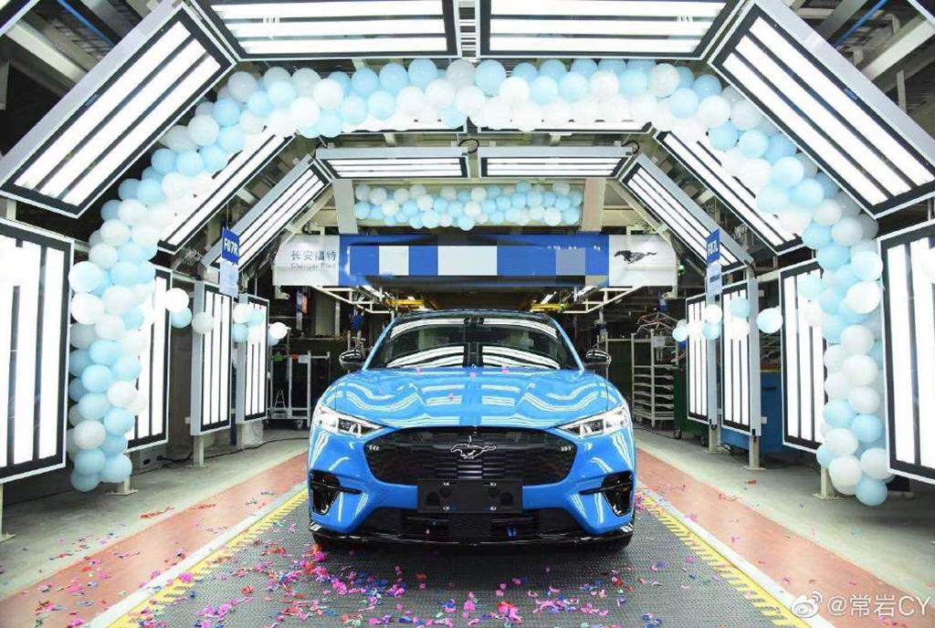 35萬元左右 國產福特Mustang Mach-E疑似售價曝光