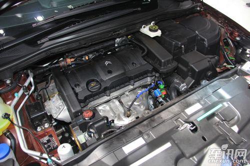 雪铁龙世嘉2013款发动机各部件名称图解