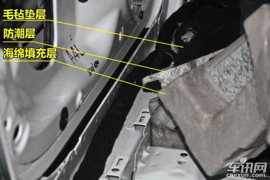 奥迪a4l发动机舱电路,油路,气路管线布局整洁,管线之间的干涉