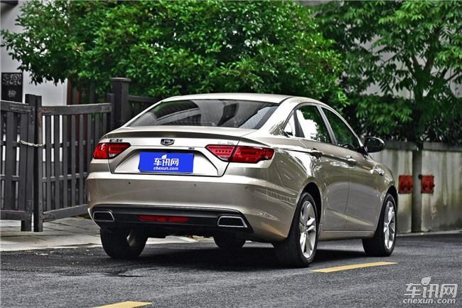 吉利帝豪GL将9月20日上市 10万元的国民车
