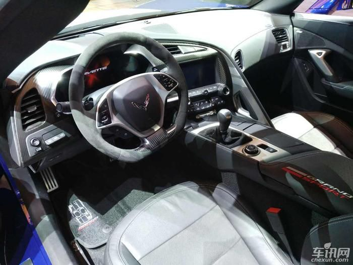 科尔维特ZR1亮相北美车展 搭6.2L发动机