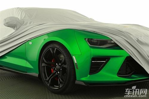 科迈罗Track Concept预告图曝光 动力更强
