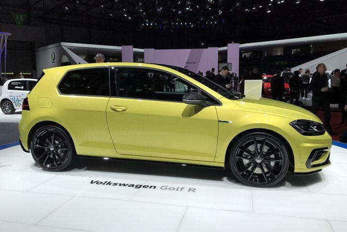 大众新高尔夫R日内瓦车展发布 搭2.0T动力