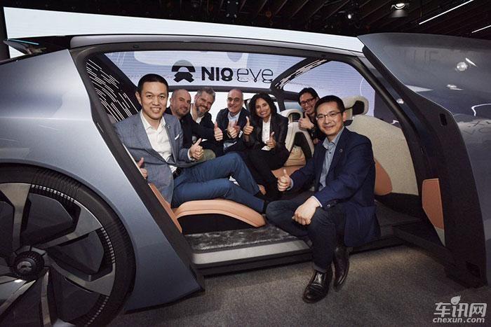 蔚来概念车EVE正式发布 亮相2017上海车展