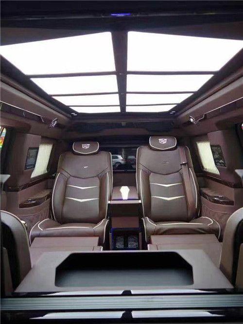 凯迪拉克总统一号 领袖豪车极尽奢华多功能