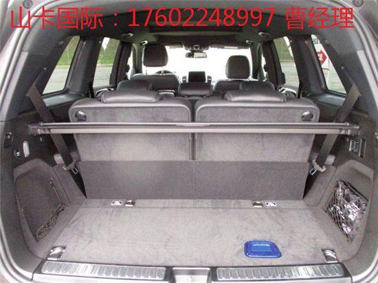 17款奔驰GLS450动感尊贵奢华的舒适品质