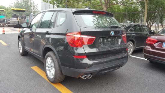 宝马X3最新惊喜降价现车促销 全国上牌