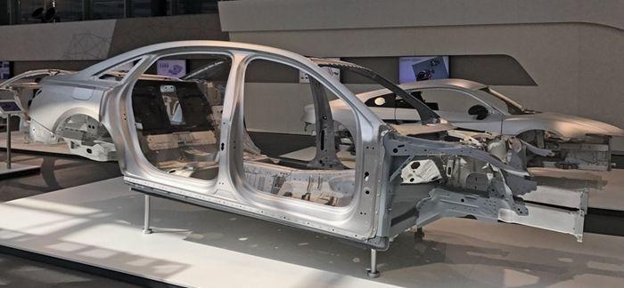 新一代奥迪A8车架信息发布 巴塞罗那发布