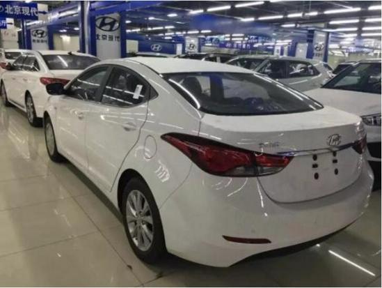 新款现代朗动最低裸车价格全系巨额降价