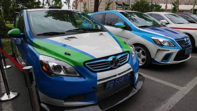 第四届环青海湖(国际)电动汽车挑战赛开战