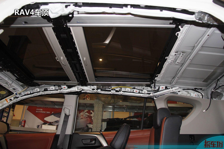 丰田家族车顶地板防护盘点 TOYOTA GOA车身