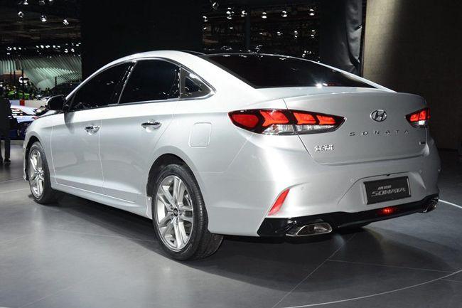 现代新款索纳塔动力信息曝光 新增2.0T车型