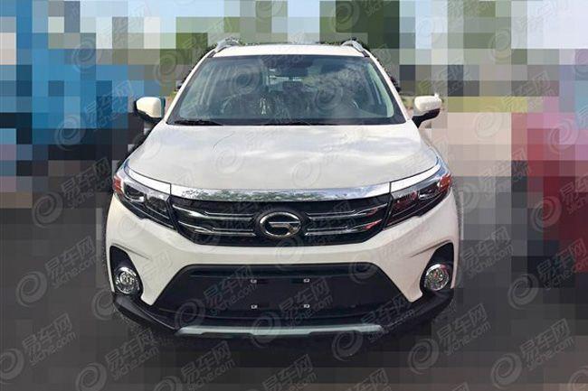 广汽传祺GS3实车谍照曝光 预计8月底上市