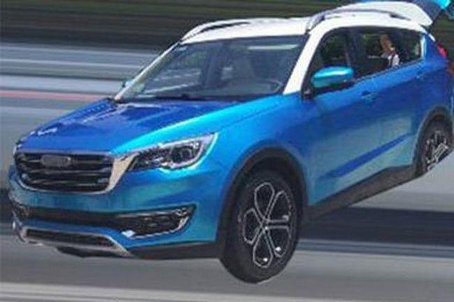 开瑞全新SUV车型X70曝光 或将于2018年亮相