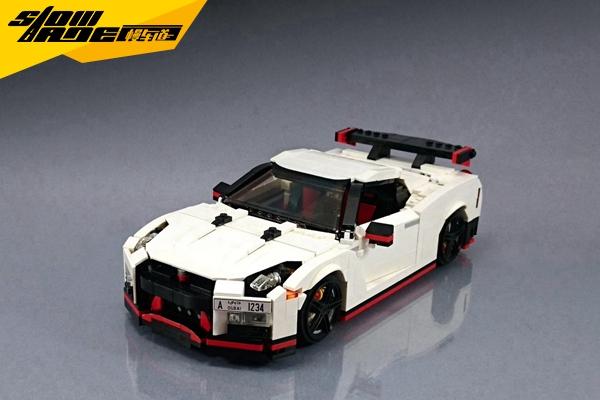 乐高日产GT-R Nismo玩具 圆童年的速度梦想