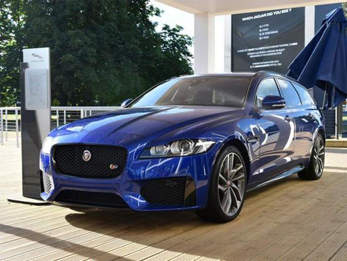 捷豹新XF Sportbrake将引入 广州车展亮相