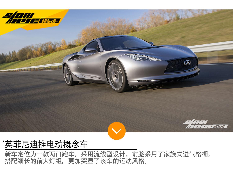 英菲尼迪推电动概念车 明年底特律车展亮相