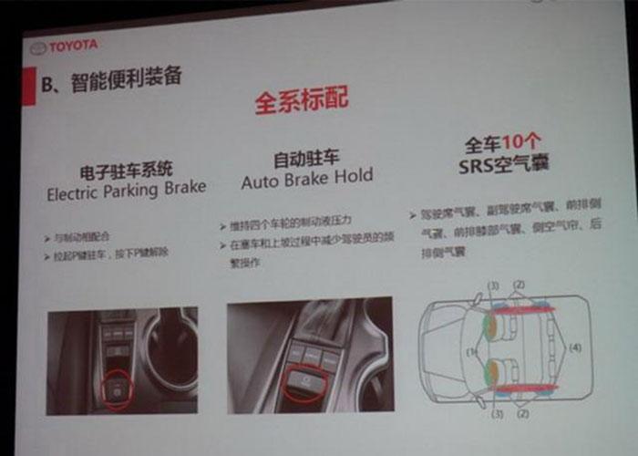 广丰新凯美瑞或11月16日上市 延续海外设计