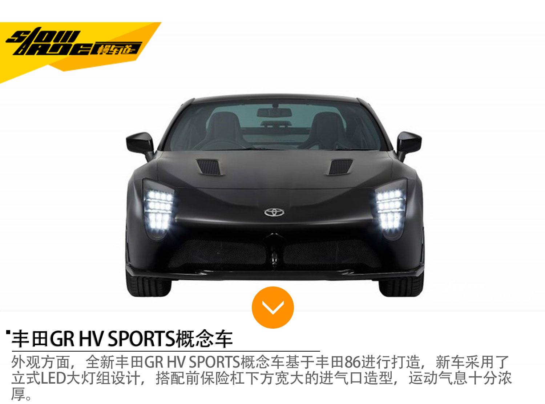 丰田GR HV SPORTS概念车 将亮相东京车展