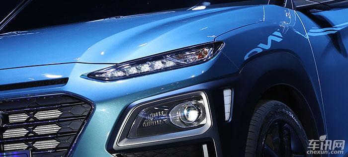 北京现代全新车型ENCINO广州车展首发亮相