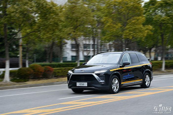 蔚来获颁智能网联汽车测试号牌 测试车上路