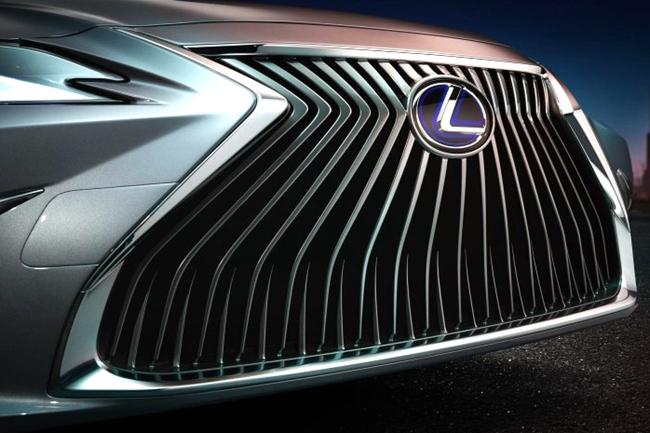 雷克萨斯全新ES预告图发布 北京车展亮相