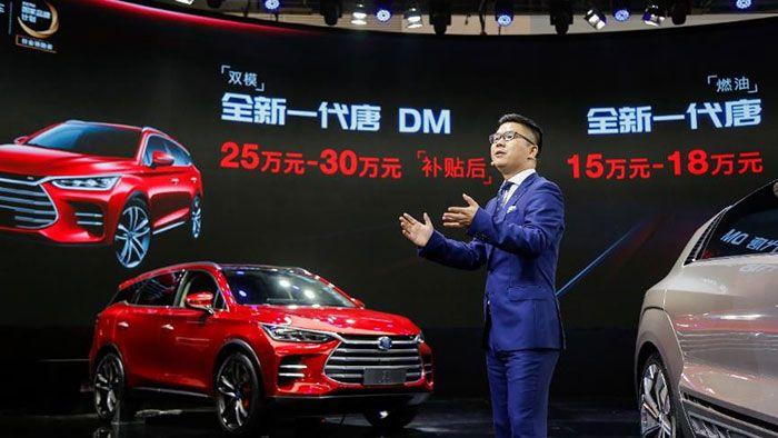核心技术在 全新一代唐领中国品牌SUV浪潮