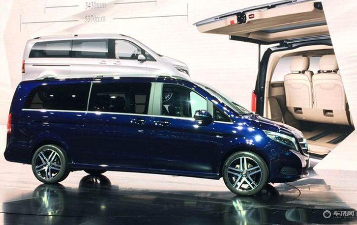 福建奔驰新款V级上市 售48.50-61.80万元