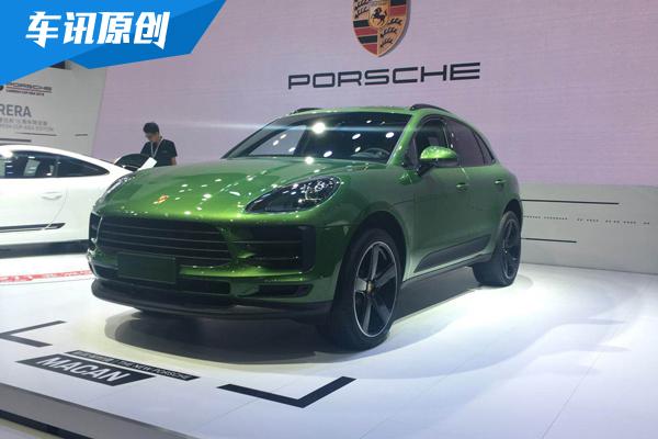 2018成都车展:保时捷新款Macan正式亮相