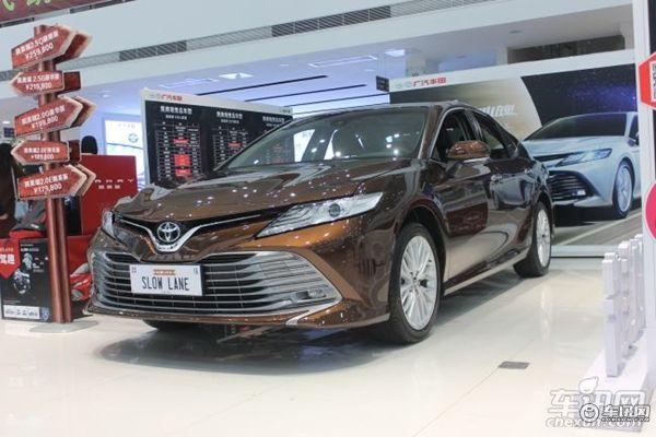 合肥广汽丰田凯美瑞售价17.98万起 现车充足