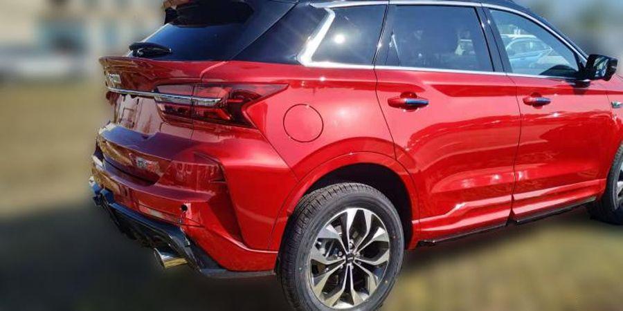 斯威G01 F版谍照曝光 将于广州车展上市