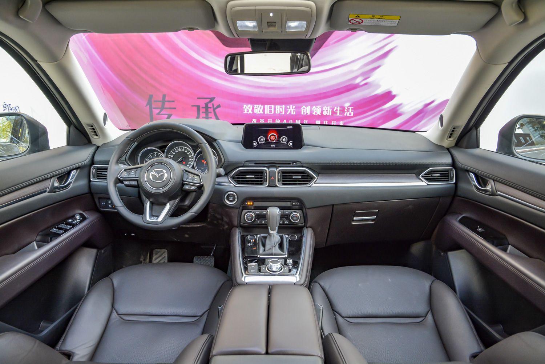 搭2.5L自吸动力 长安马自达CX-8将今晚上市