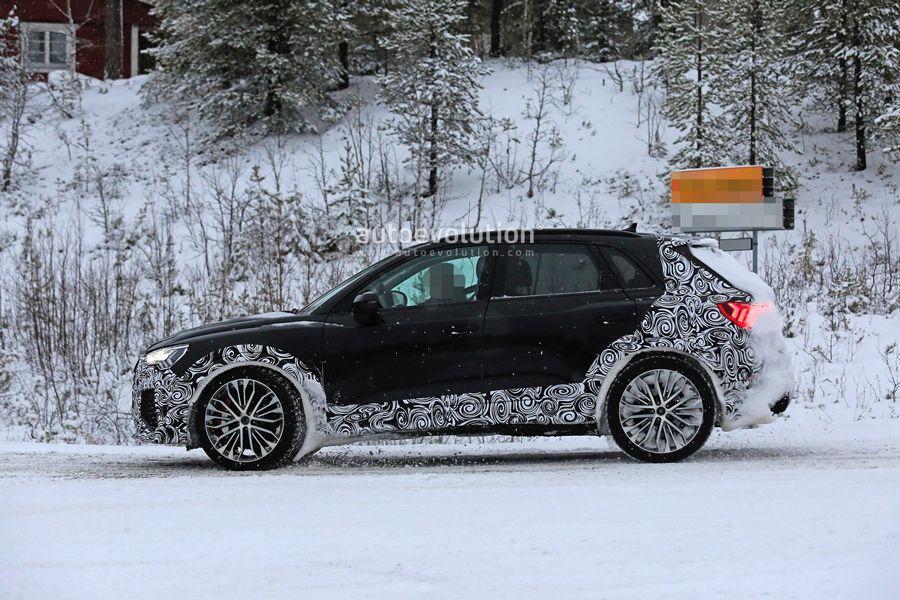 法兰克福车展亮相 新款奥迪RS Q3最新谍照