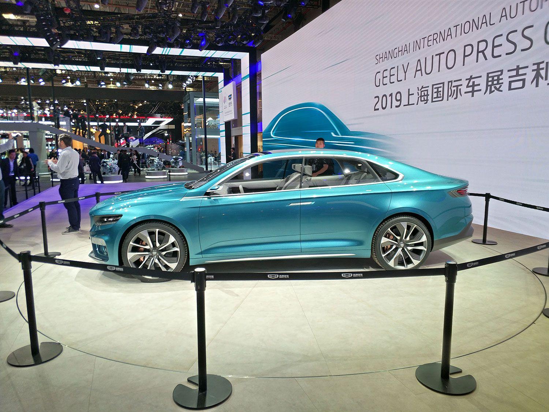 2019上海车展:吉利全新概念车Preface首发
